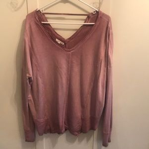 Maurices distressed sweatshirt